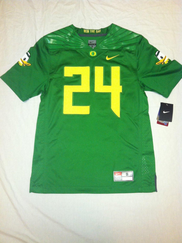 Oregon Ducks Candy Green #24 Medium Nike Limited Jersey