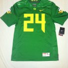 Oregon Ducks Candy Green #24 Large Nike Limited Jersey
