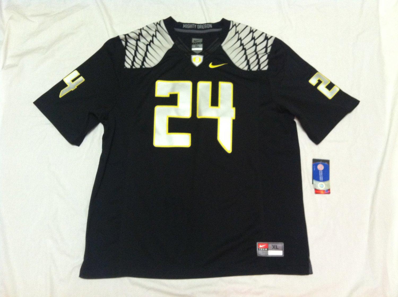 Oregon Ducks Black #24 XL Nike Limited Jersey