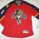 Roberto Luongo Florida Panthers Red Home 2015 Reebok Authenic Size 52 Jersey