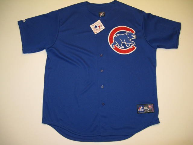 Chicago Cubs Majestic Blue XL Replica Jersey