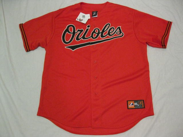 Manny Machado Baltimore Orioles Orange Majestic XL Replica Jersey