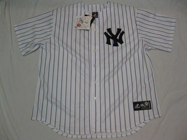 New York Yankees Majestic XL Home Replica Jersey