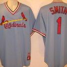 Ozzie Smith St. Louis Cardinals Vintage 1980's Majestic 2XL V-Neck Jersey