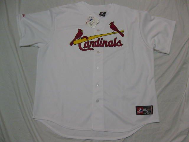 St. Louis Cardinals 2014 Majestic 2XL Home Replica Jersey