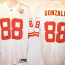 Tony Gonzalez Kansas City Chiefs White 3XL Reebok Replica Jersey