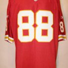 Tony Gonzalez Kansas City Chiefs Red 2XL Reebok Premier Jersey