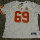 Jared Allen Kansas City Chiefs Women's Large White Reebok Premier Jersey