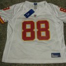 Tony Gonzalez Kansas City Chiefs Women's White Medium Reebok Replica Jersey