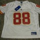 Tony Gonzalez Kansas City Chiefs Women's White XL Reebok Replica Jersey