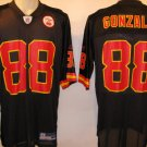 Tony Gonzalez Kansas City Chiefs Black Alternate Large Reebok Replica Jersey