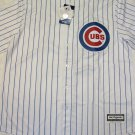 Kyle Schwarber Chicago Cubs Majestic CoolBase Mens XL Pinstripe Replica Jersey