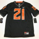 Barry Sanders Oklahoma State Cowboys Medium Black Special Edition Nike Alumni Game Jersey