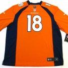 Peyton Manning Denver Broncos Orange 2XL Nike Game Jersey
