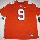 Clemson Tigers #9 (Travis Etienne) Large Orange Mens Nike Game Jersey