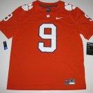 Clemson Tigers #9 (Travis Etienne) Medium Orange Mens Nike Game Jersey