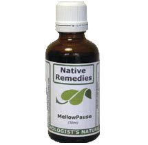MellowPause - Menopause Hot Flash Supplement, Homeopathic Treatment