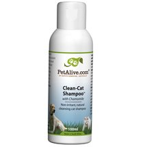 PetAlive Clean-Cat Shampoo with Chamomile - Natural Shampoo For Cats