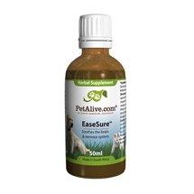 PetAlive EaseSure - Cat / Dog Alertness Supplement, Mental Brain Stimulant