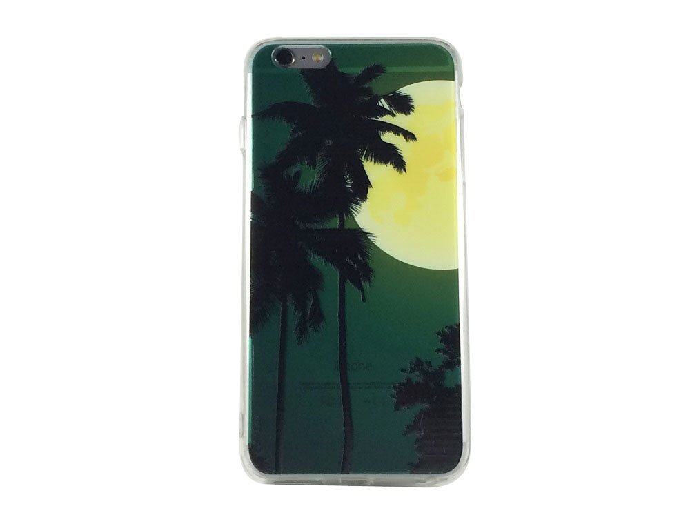 Moon Shine - New Moon Palm Tree Cell Phone Case iPhone 6 plus ip6 plus