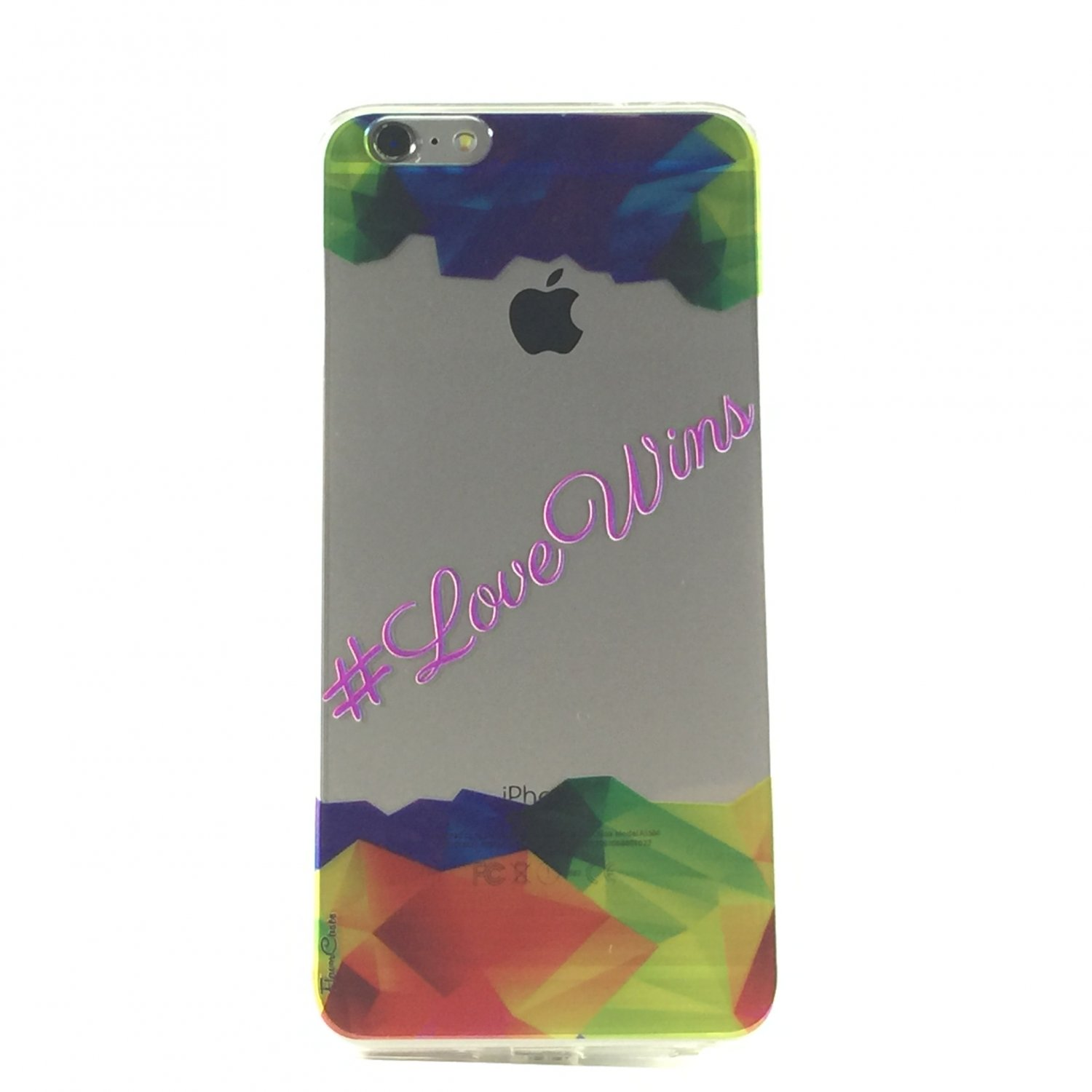 Love Wins - Phases Quotes Cell Phone Case iPhone 6 plus ip6 plus