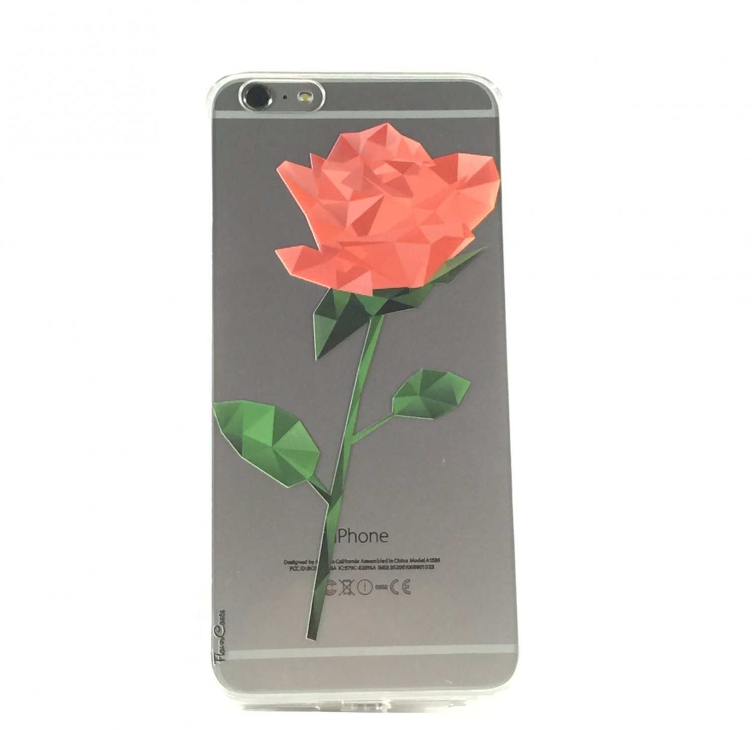 Will You Be My - New Rose Floral Cell Phone Case iPhone 6 ip6