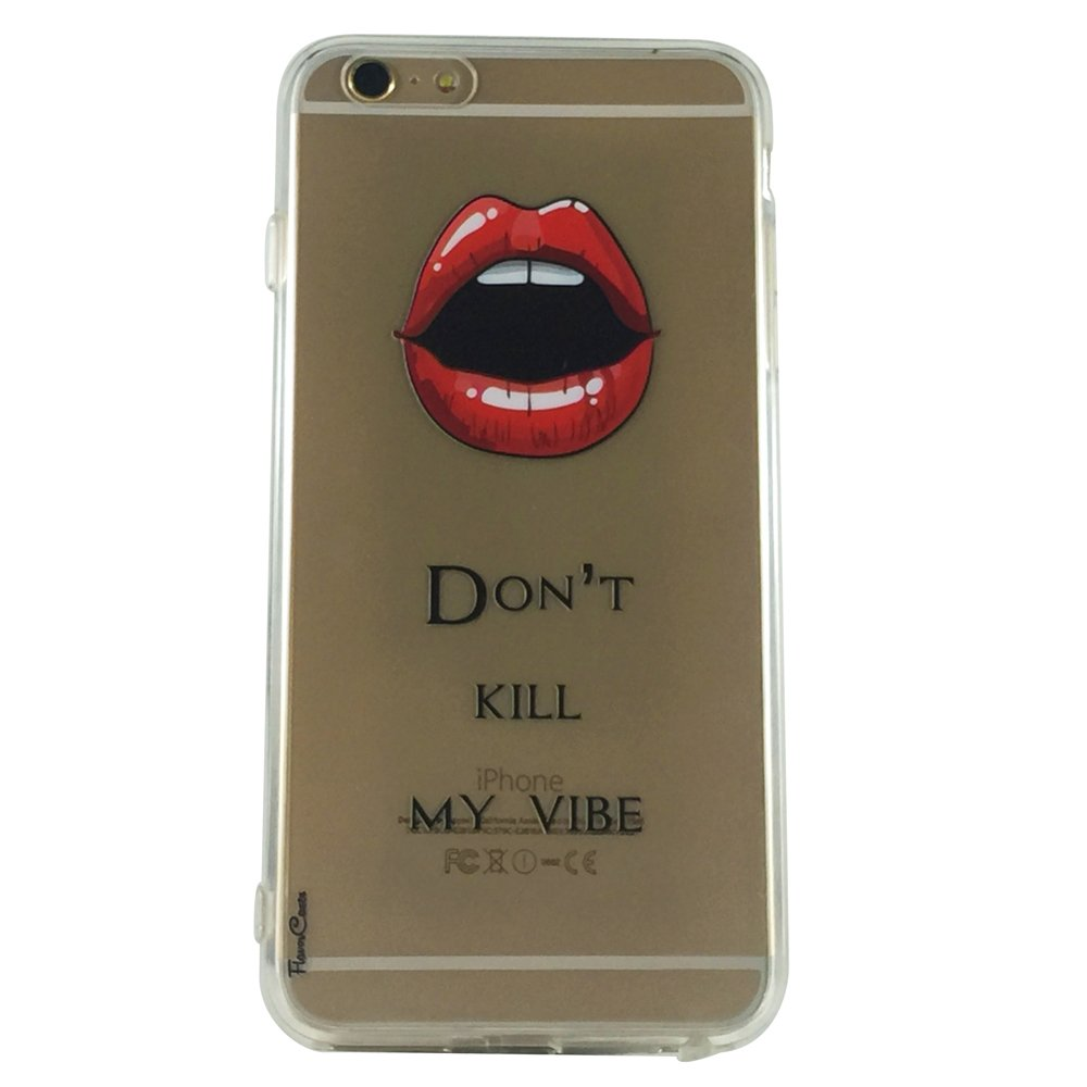 B, Don't Kill My Vibe - New Quotes Vibe Cell Phone Case iPhone 6 ip6