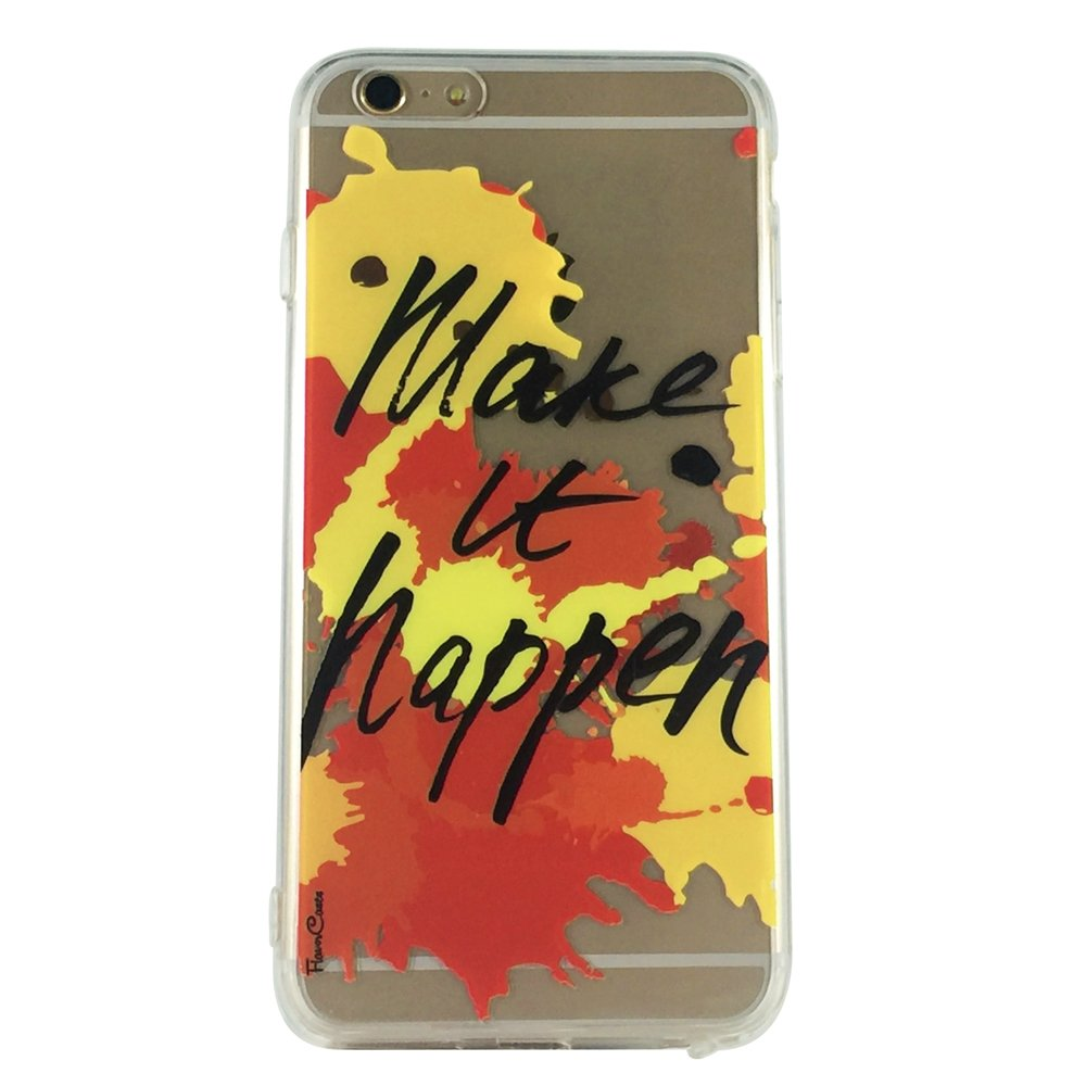 Make It Happen - New Quotes Goal Cell Phone Case iPhone 6 ip6