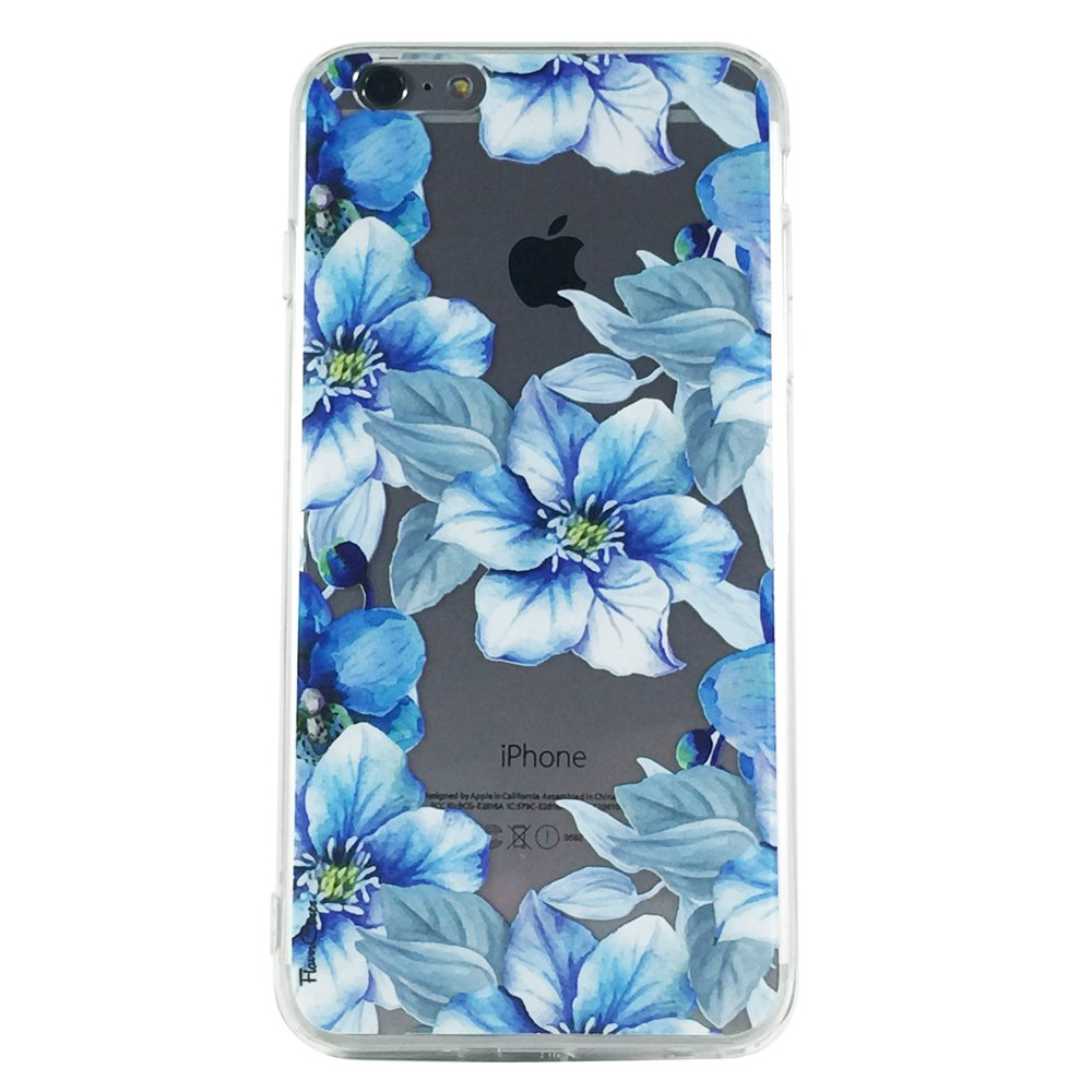 Secret Garden of Blue - New Floral Blue Flowers Cell Phone Case iPhone 6 ip6