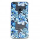 Secret Garden of Blue - New Floral Blue Flowers Cell Phone Case iPhone 6 plus ip6 plus