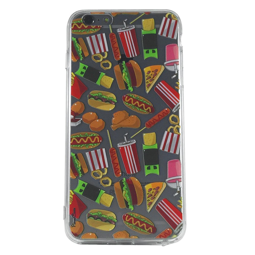 Meals On Wheels - New Food Hot Dog Burger Cell Phone Case iPhone 6 plus ip6 plus