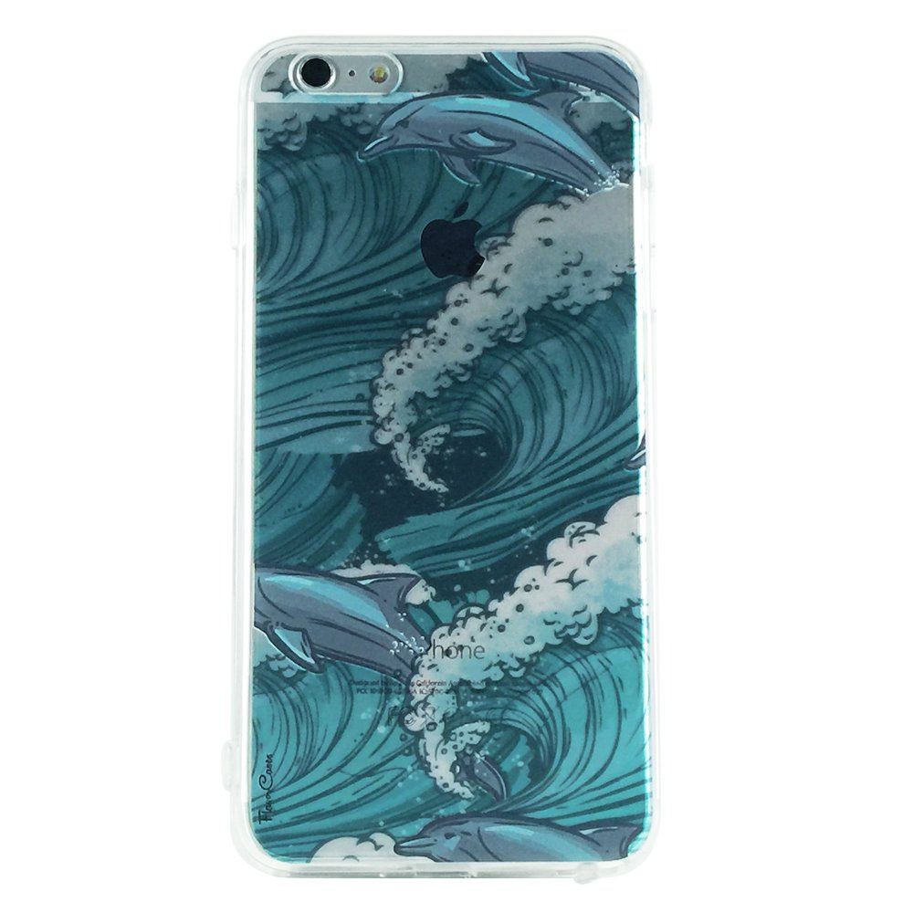 Dolphin Waves - Animal Dolphin Cell Phone Cases iPhone 6 plus ip6 plus