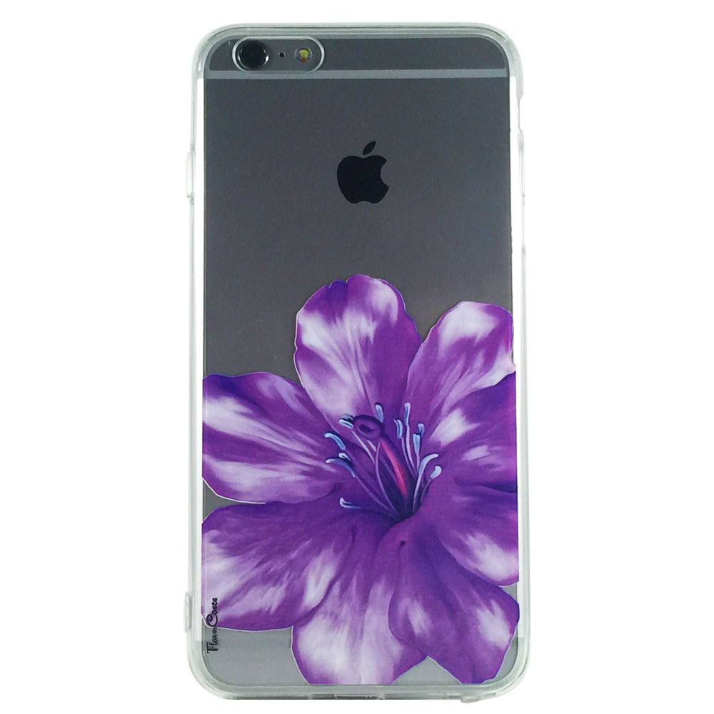 Purple Spring Flowers - New Floral Flowers Cell Phone Case iPhone 6 ip6