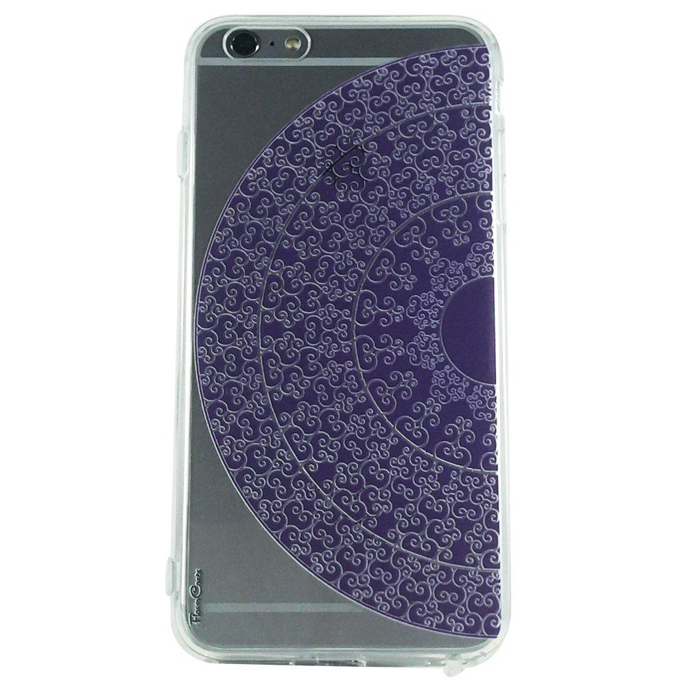 Purple Mandala Pattern Type 1 - New Henna Mandala Cell Phone Case iPhone 6 plus ip6 plus
