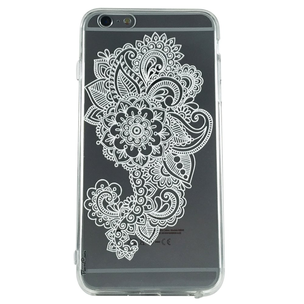 Mandala Pattern Type 7 - New Henna Pattern Cell Phone Case iPhone 6 plus ip6 plus