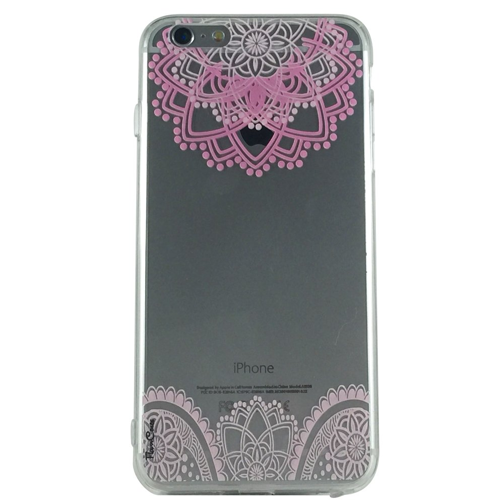 Pink Romance - New Henna Floral Cell Phone Case iPhone 6 plus ip6 plus