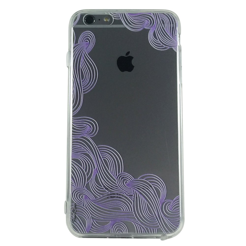 Lavender Swirls -New Henna Pattern Cell Phone Case iPhone 6 plus ip6 plus