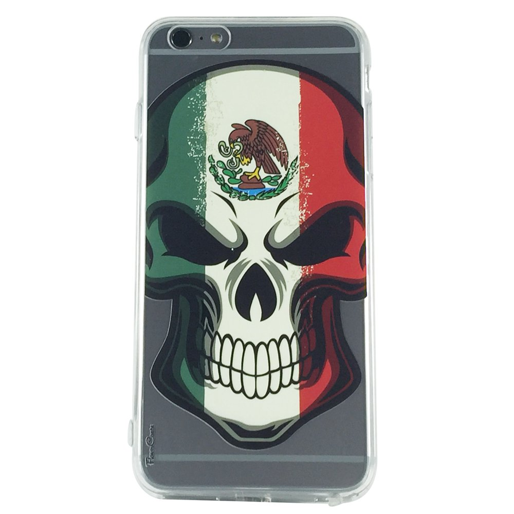Mejico Skull - Skull Gothic Cell Phone Case iPhone 6 ip6