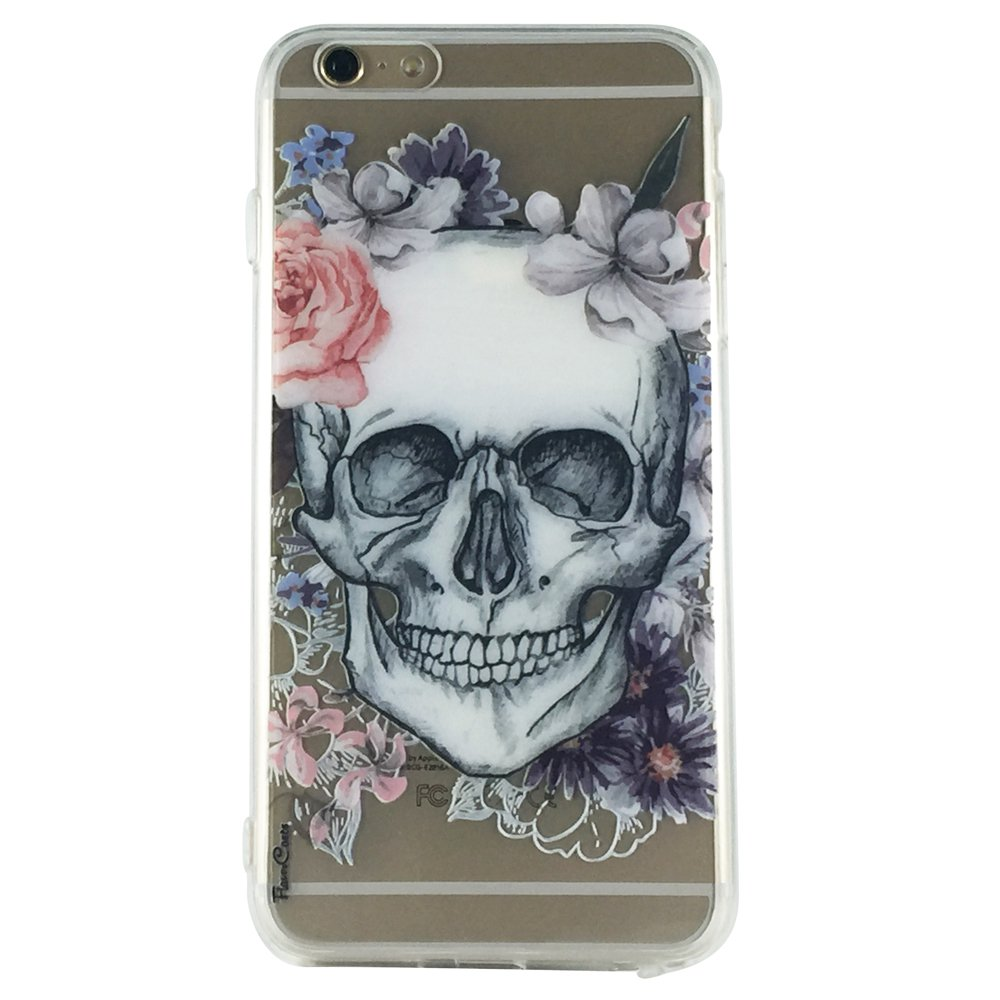 Skull Princess - Skull Princess Gothic Cell Phone Case iPhone 6 ip6