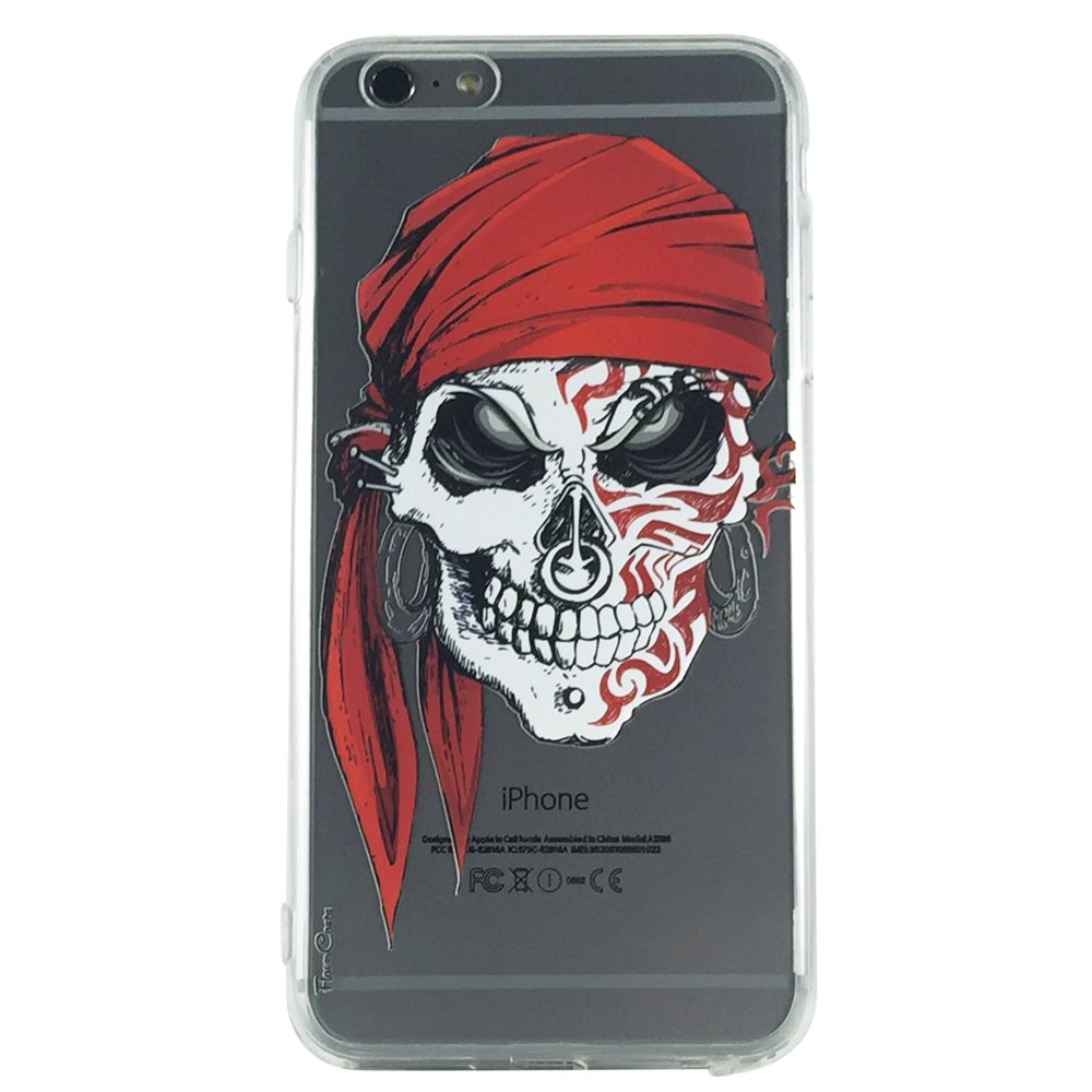 Captain Jack - Skull Gothic Cell Phone Case iPhone 6 ip6