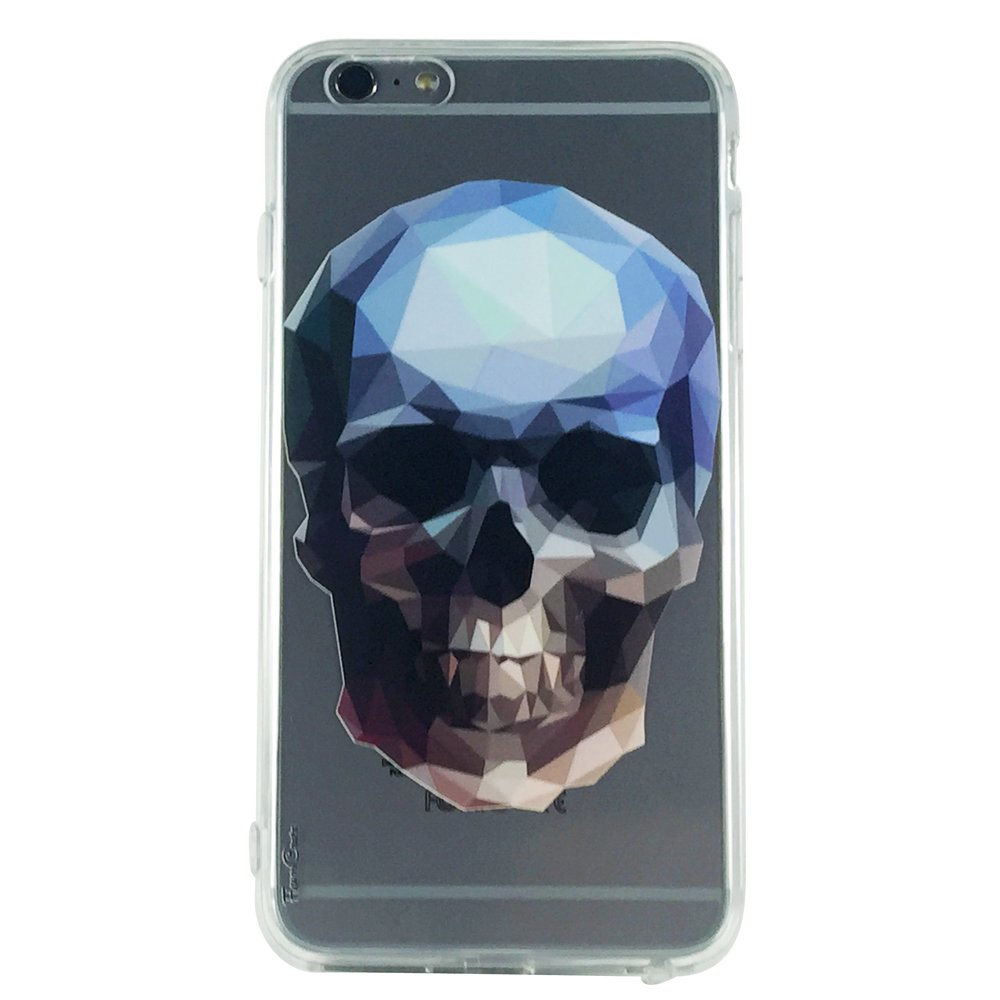Crystal Skull - Skull Geometric Shapes Cell Phone Case iPhone 6 ip6