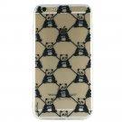 Panda Monogram - Animal Panda Cell Phone Case iPhone 6 ip6