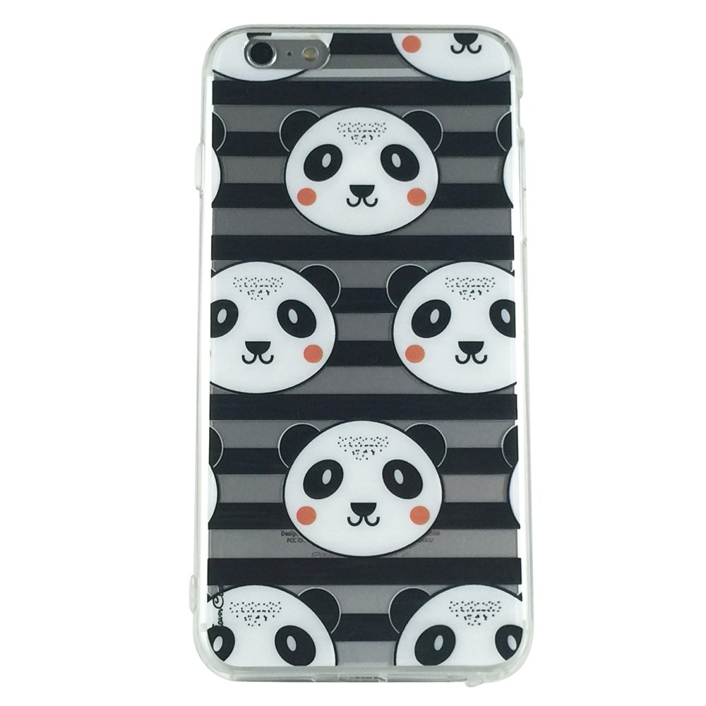 Panda & Stripes - Anime Panda Cell Phone Case iPhone 6 ip6