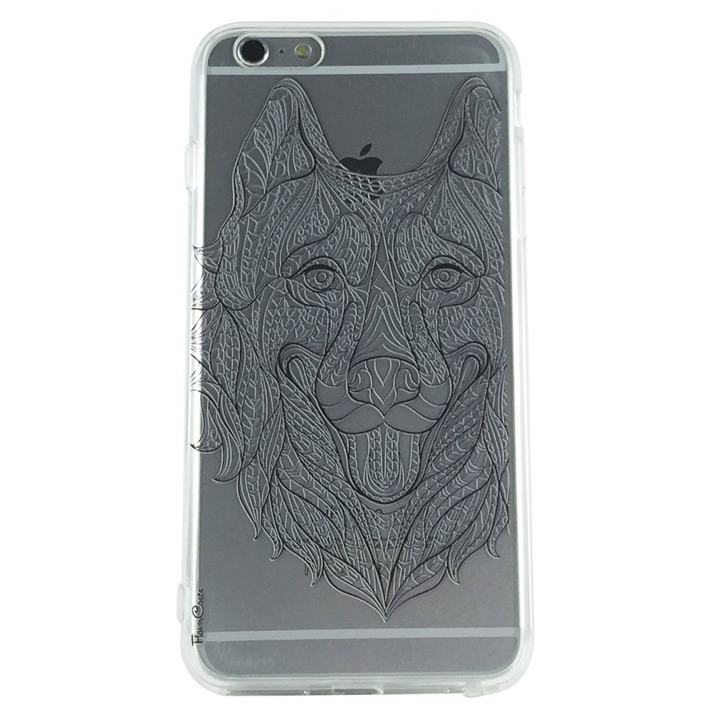 Wolf & Ink - Animal Wolf Cell Phone Case iphone 6 ip6