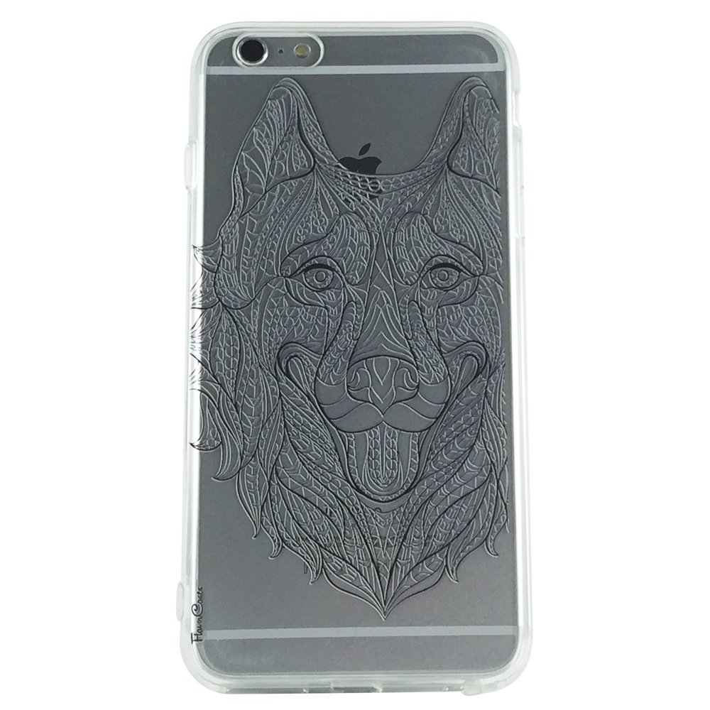 Wolf & Ink - Animal Wolf Cell Phone Case iphone 6 plus ip6 plus