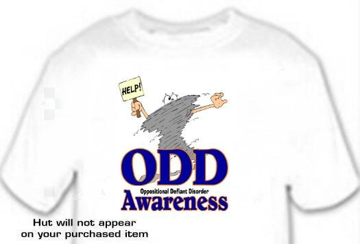T-shirt, ODD Awareness, Oppositional Defiant Disorder -  (youth & Adult Sm - xLg)