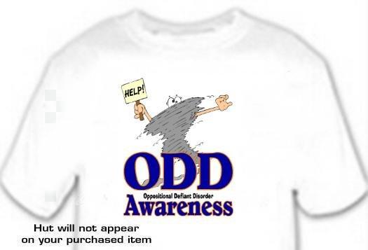 T-shirt, ODD Awareness, Oppositional Defiant Disorder - (adult 2xLg - 3xlg)