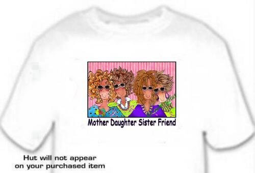 T-shirt, MOTHER DAUGHTER SISTER FRIEND, Breast Cancer Awareness - (adult Xxlg)