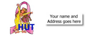90 BREAST CANCER AWARENESS  Address Labels - Better than Ever