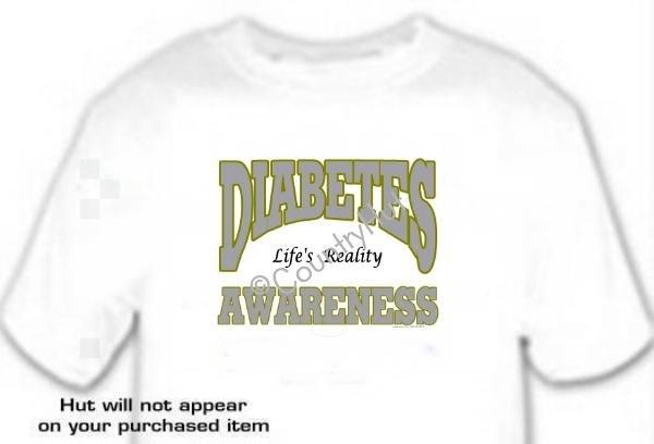 T-shirt, DIABETES Awareness, Life's Reality - (adult Xxlg)